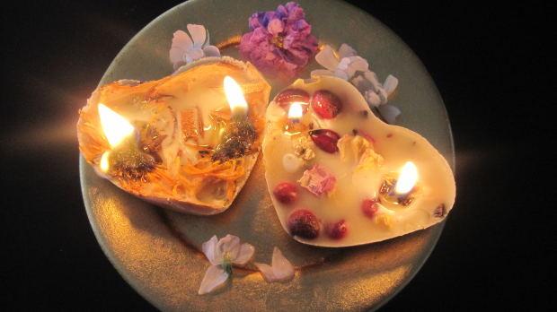 ボタニカルキャンドルの作り方!植物と灯りで癒されよう♪