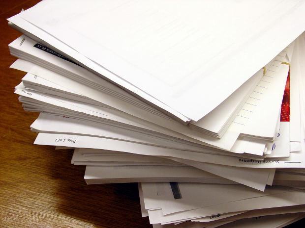 家の中の書類を整理する方法!スッキリ片付くコツは?